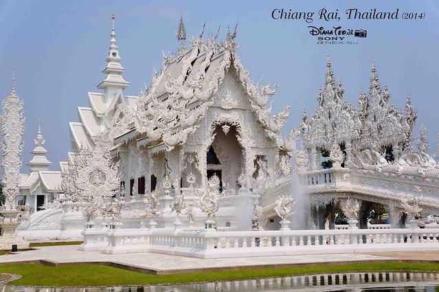 Thailand - Chiang Rai Wat Rong Khun 02