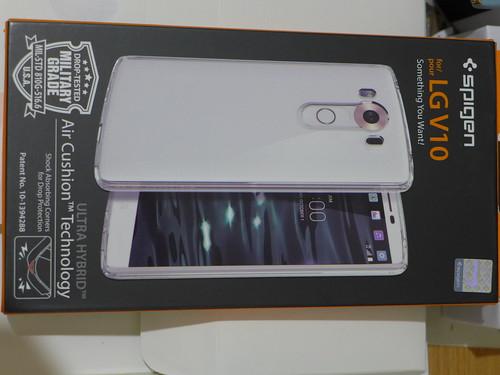 Spigen for LG v10 透明保護殼