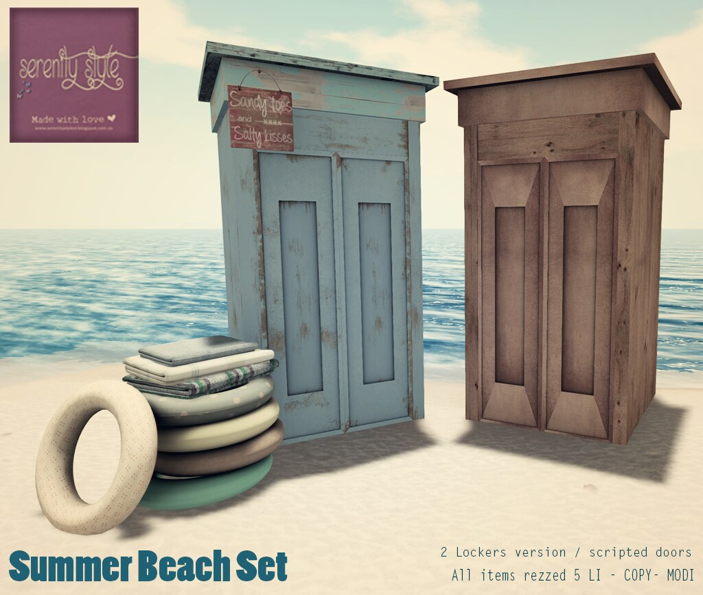 Serenity Style- Summer Beach Set