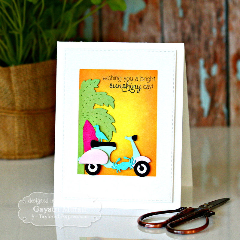 Scooter Summer card by Gayatri Murali