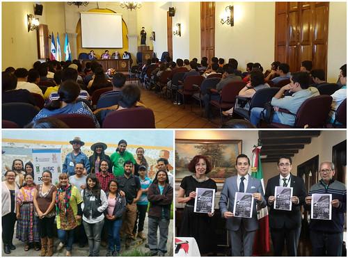 Especialistas mexicanos promueven diálogo académico y cultural en Quetzaltenango
