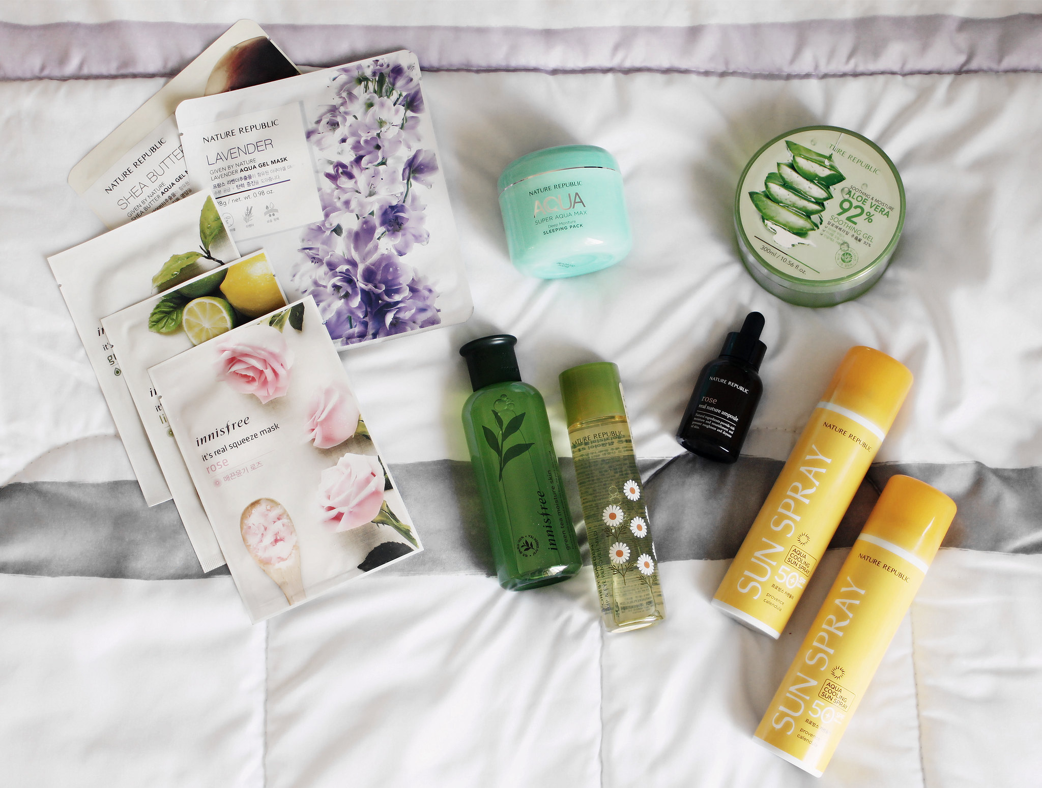 innisfree-nature-republic-korean-skincare-haul