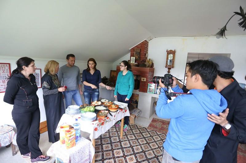 episod bersama tentera wanita bOsnia
