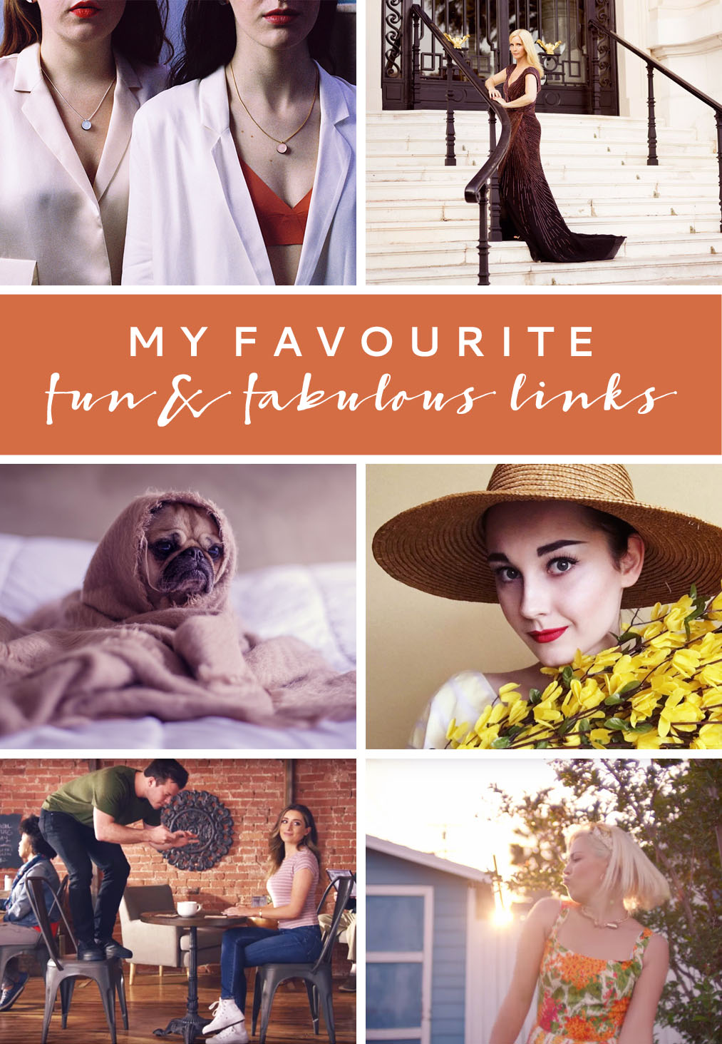 Favourite Fun & Fabulous Links May 2016 | Not Dressed As Lamb