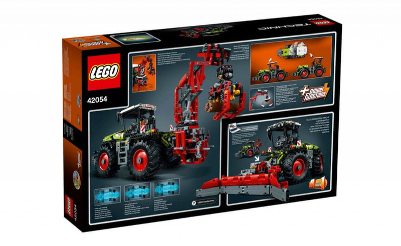 LEGO Technic Sets 2016: 42054 - CLAAS XERION 5000 TRAC VC