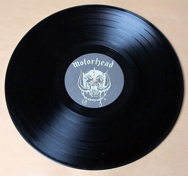 "MOTORHEAD IRON FIST nwobhm 12"" LP VINYL"