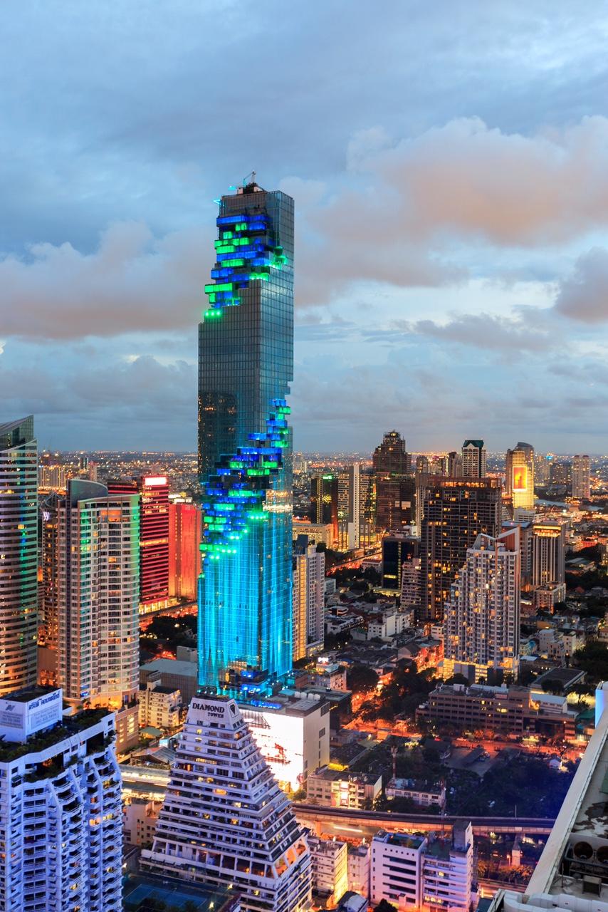 Самое высокое здание Таиланда MahaNakhon Tower