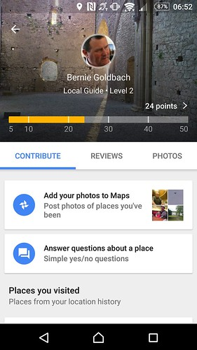 Becoming a Google Local Guide