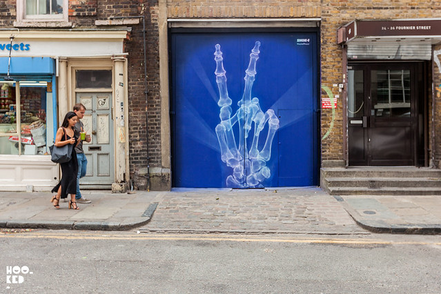 London Street Art 'MasterPeace' by Shok-1 in London