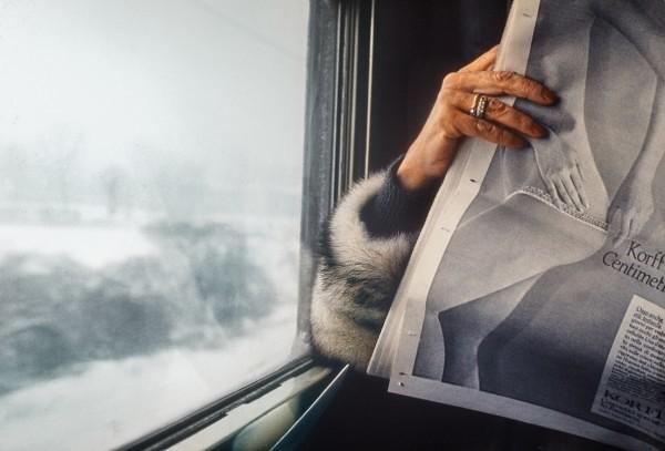 Tren a Venecia. Julie Bergadá / Obra Fotográfica / Museo Nacional de Arte Decorativo
