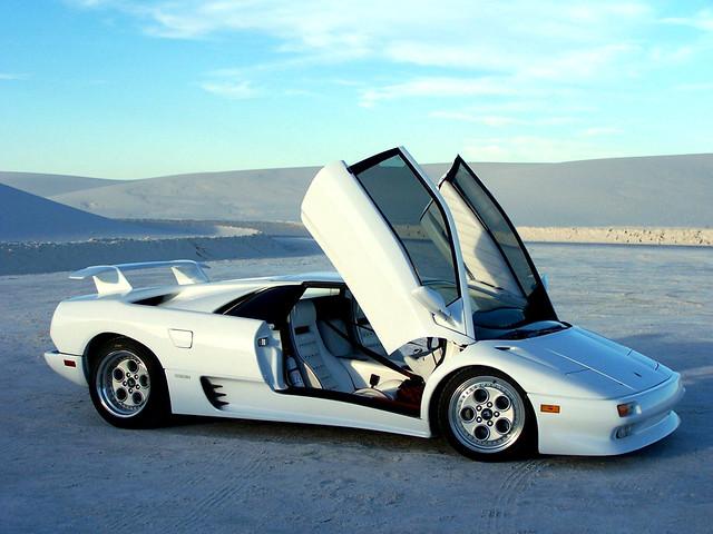 Суперкар Lamborghini Diablo. 1990 – 1993 годы