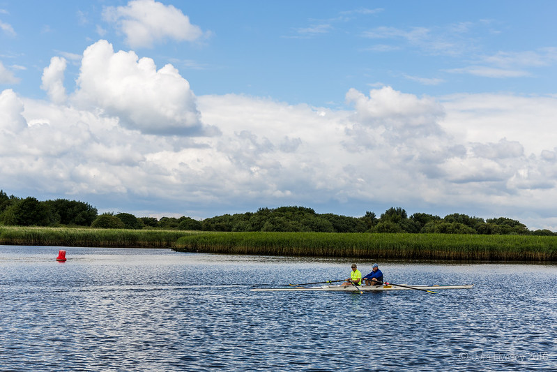 Rowing on the River Stour