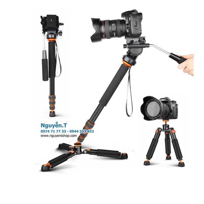 Chân máy ảnh quay phim Monopod 4in1 SideLangboli SL270