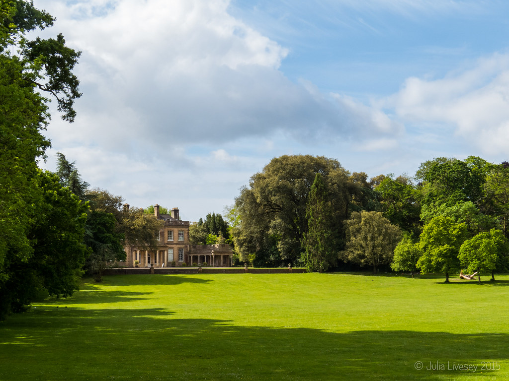 Upton House on a sunny morning