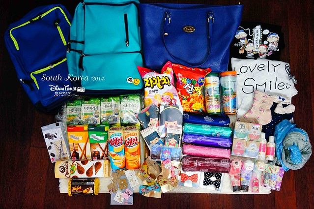 2014 South Korea Shopping Haul 01