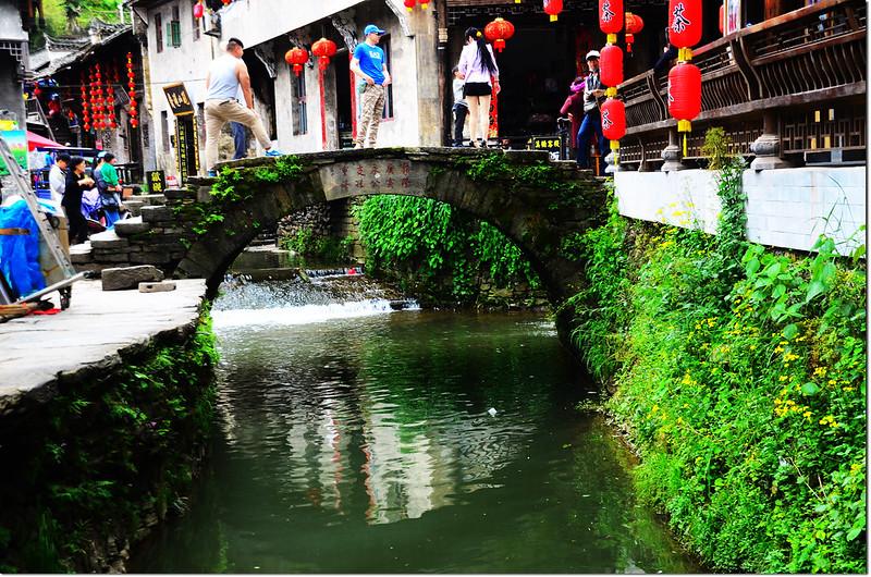 李坑的小橋流水,木橋、石橋、拱橋 1