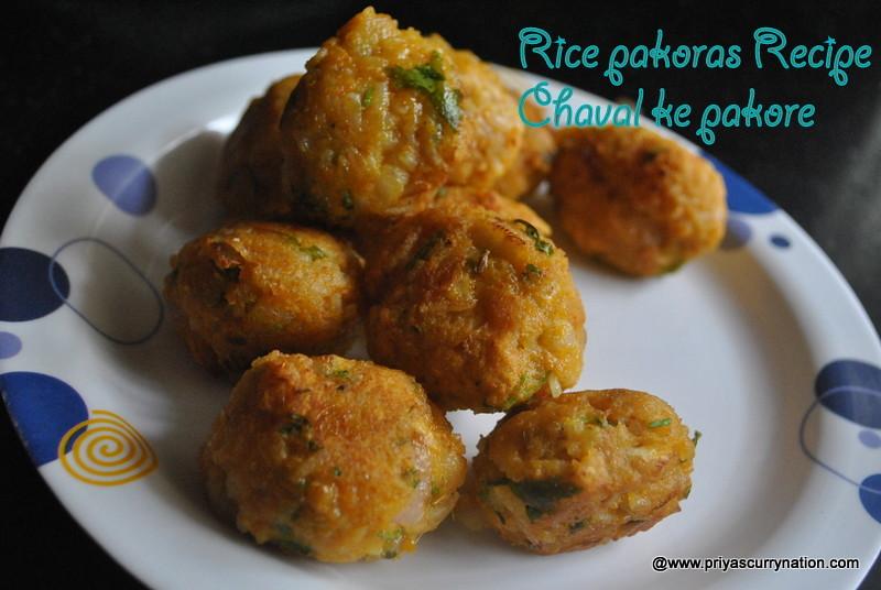 Leftover-rice-pakoras