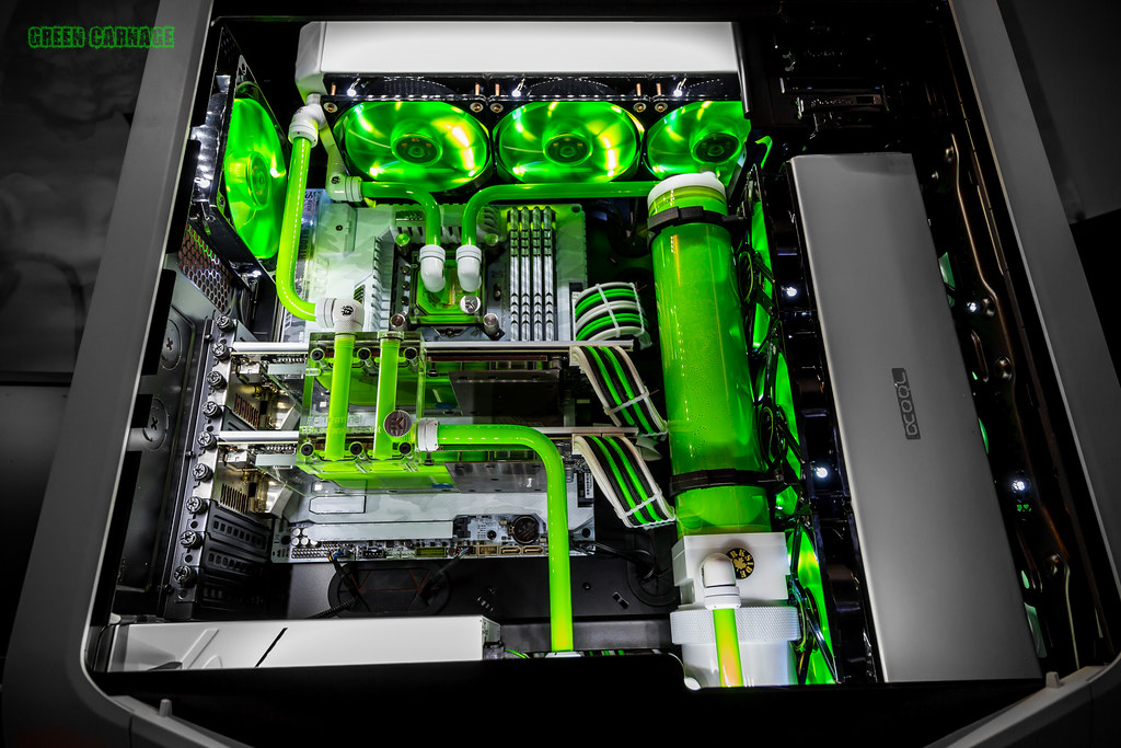 Build Log Green Carnage A 780t Build The Corsair User