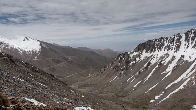 View south from near Khardung La