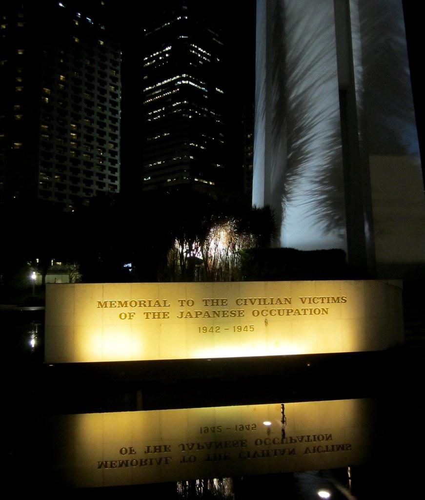 Singapore war memorial