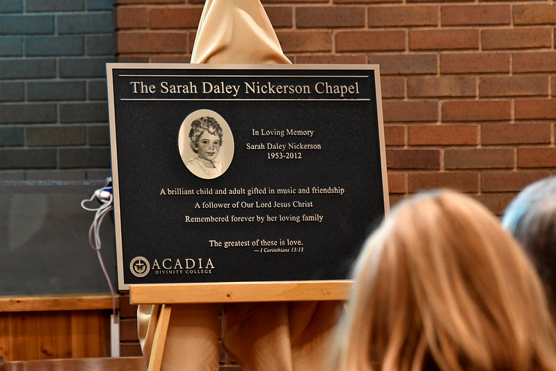 The Sarah Daley Nickerson Chapel