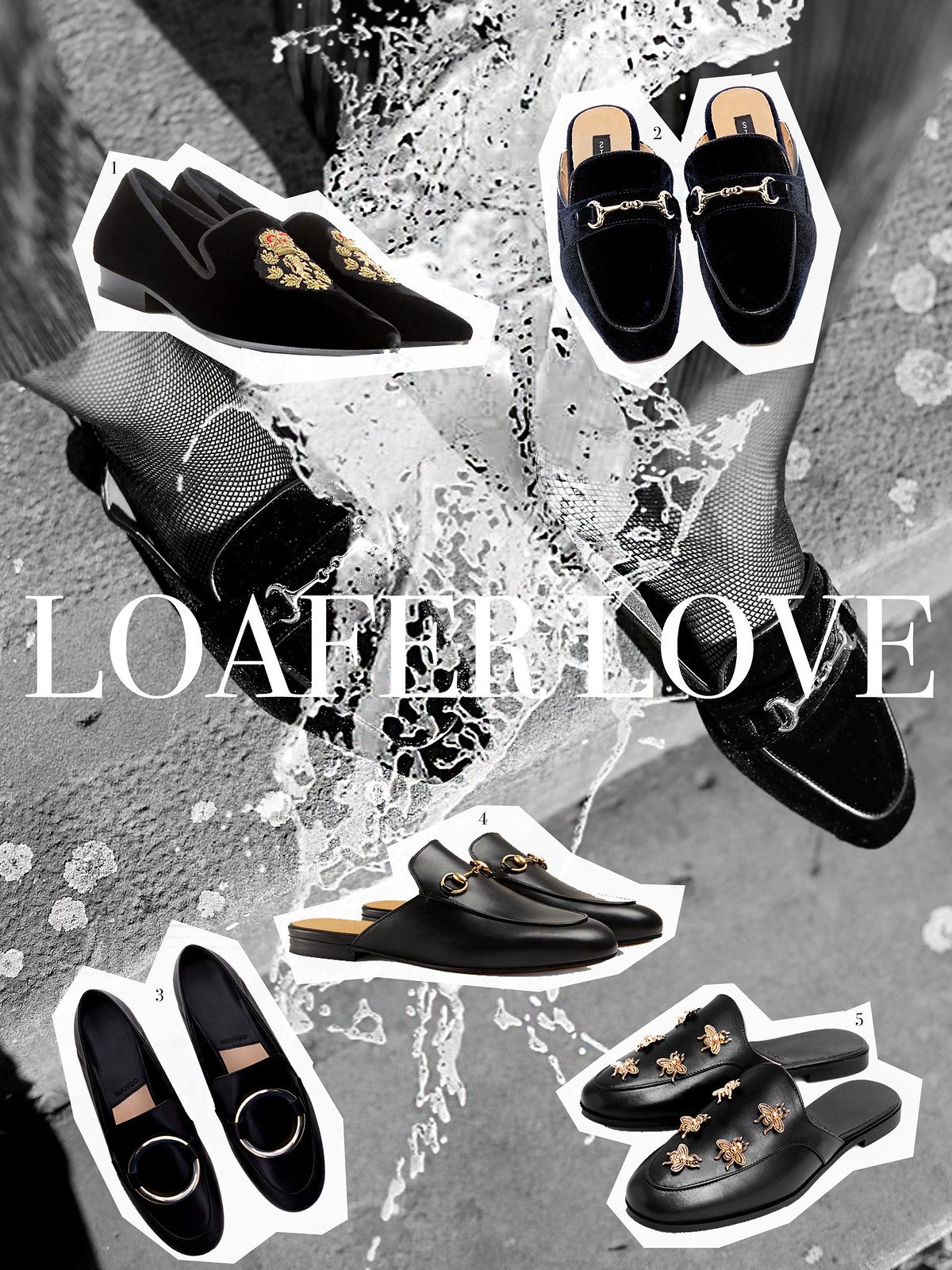 loafer brogues mules slippers velvet gucci princetown shoes autumn minimal black white stripes celine audrey sunglasses gucci soho bag promod blouse earrings hoop statement fashionblogger cats & dogs ricarda schernus modeblogger 7