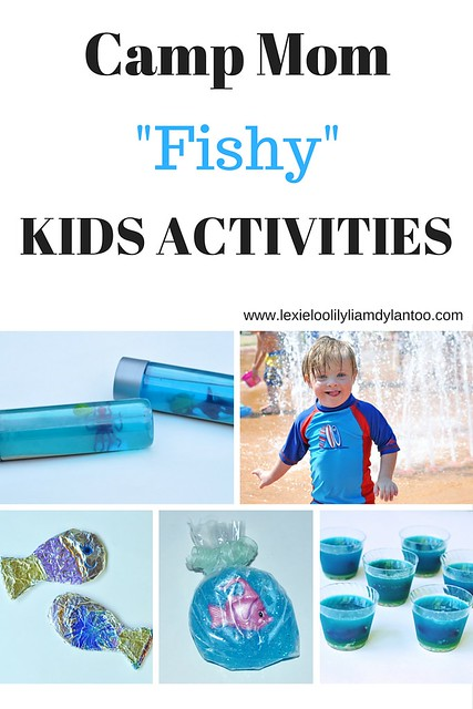 CAMP MOM Fish-Themed Kids Activities