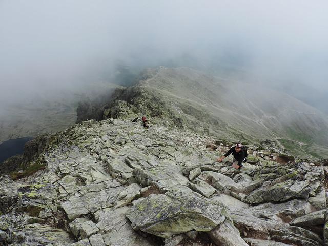 Hiking to Krivan, High Tatras of Slovakia