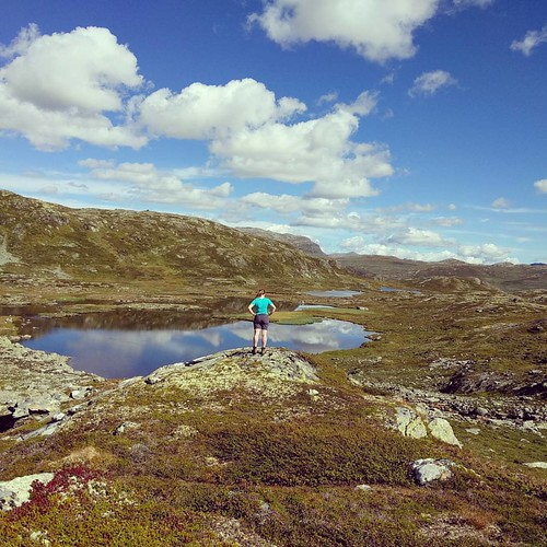 The world is yours to discover 🌍 -- 2016 Norway trip -- #hiking #naturelover #naturelovers #outdoors #nature #getoutside #mountains #mountainlove #mountain #lake #thegreatoutdoors #norway #wearenordic #norge #ilovenorway #visitnorway #picofth