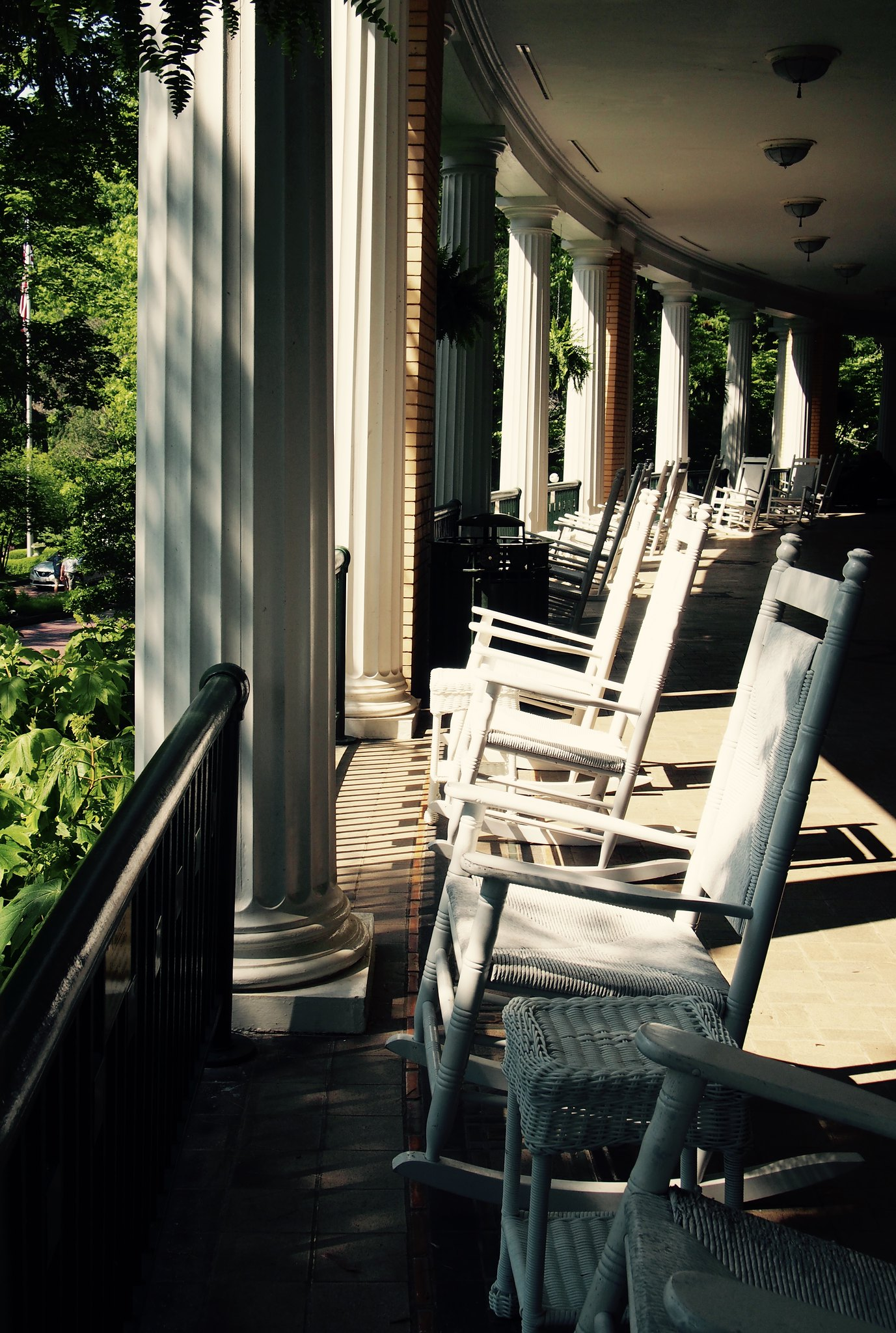 West Baden patio