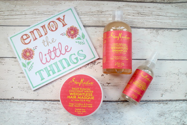 Shea Moisture Fruit Fusion Range Review