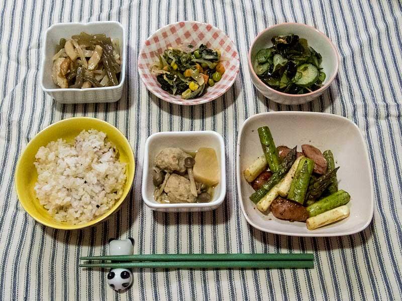 2016年5月25日の晩ご飯