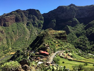 Gran Canaria - Guayadeque in the winter