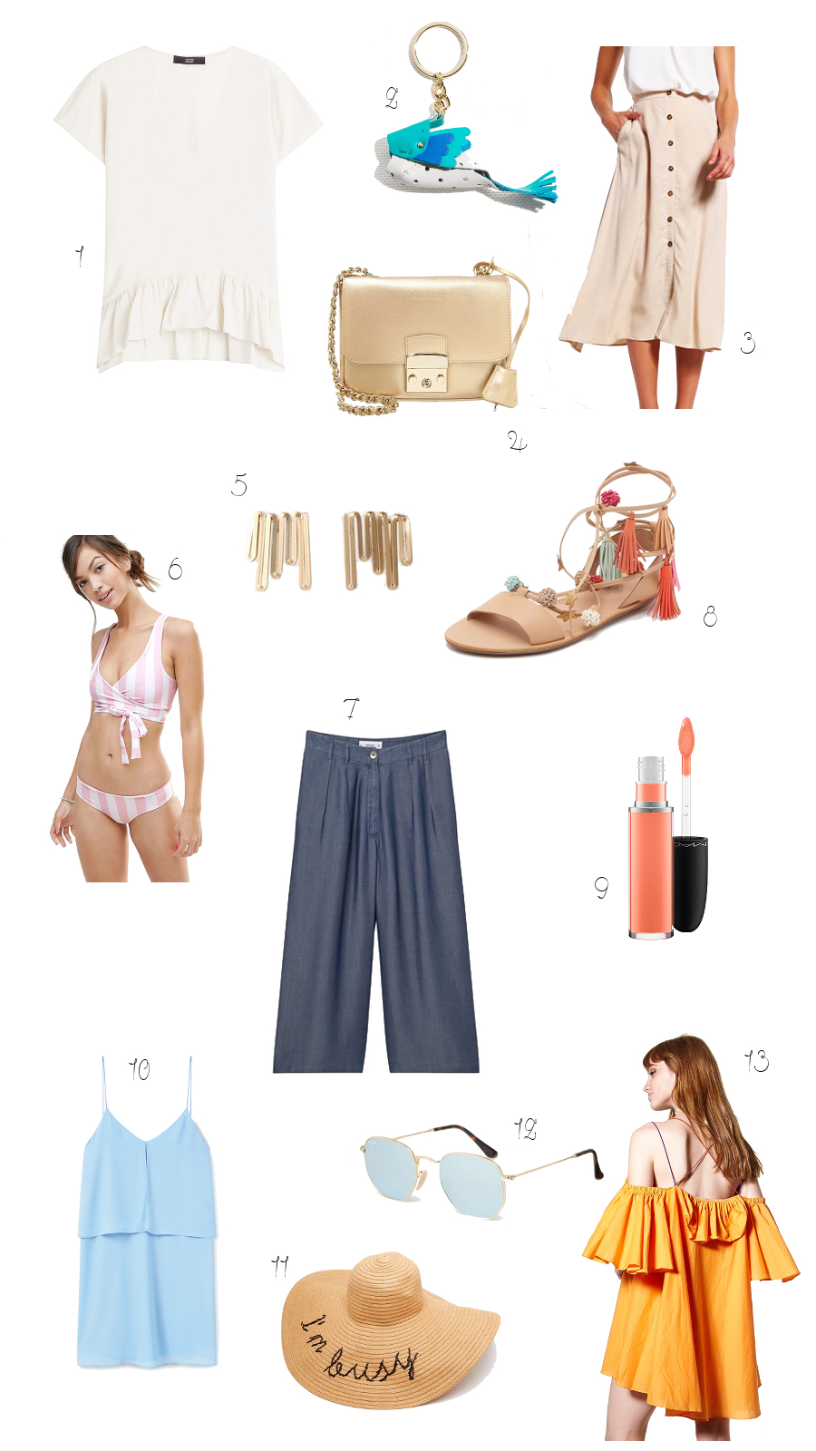 summer look essentials tips wishlist 2016  picks fashionblog