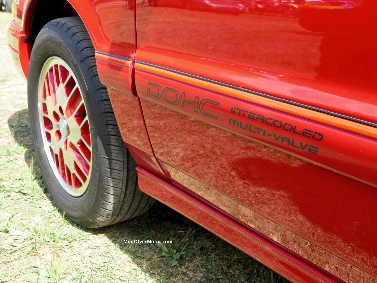 1991 Dodge Spirit R:T Badge