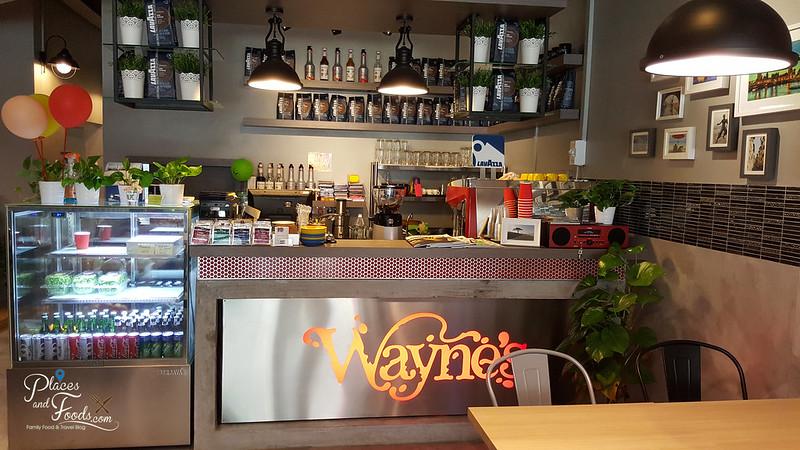 wayne cafe sri petaling entrance