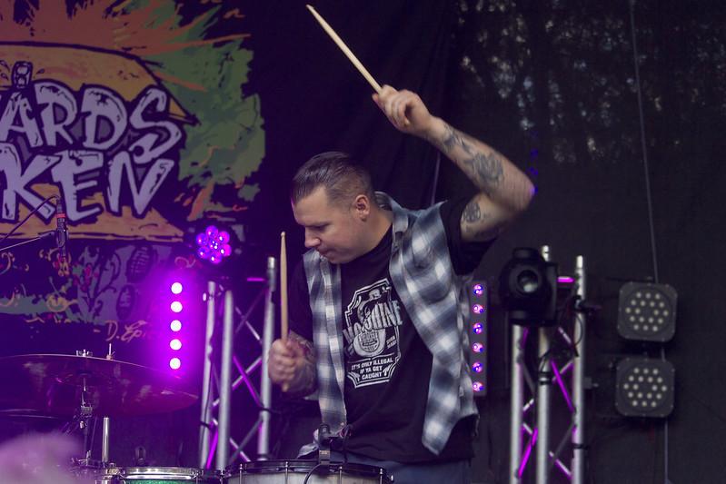 Psychobilly Drummer