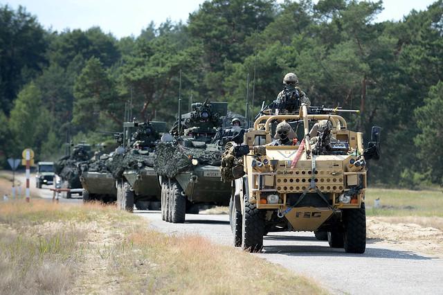 Swift Response 16 British airborne forces are training alongside NATO