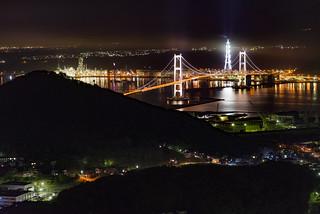 室蘭-測量山夜景