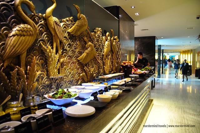 Buffet Breakfast at Signatures Restaurant Hotel Indonesia