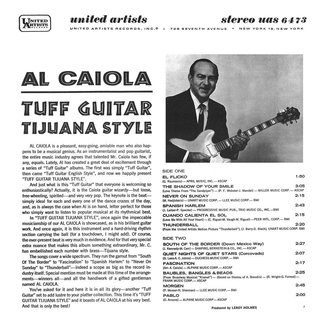 Al Caiola - Tuff Guitar Tijuana Style