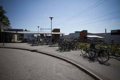 Bromölla Train Station Bicycle Parking | by Mikael Colville-Andersen