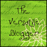 Versatile Blogger Award | by It's Great To Be Home