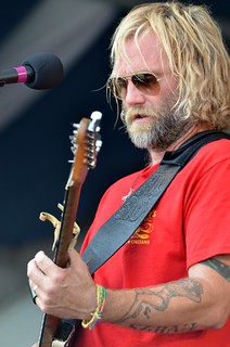 Anders Osborne at New Orleans Jazz & Heritage Festival, Saturday, May 5, 2012 | by Offbeat Magazine