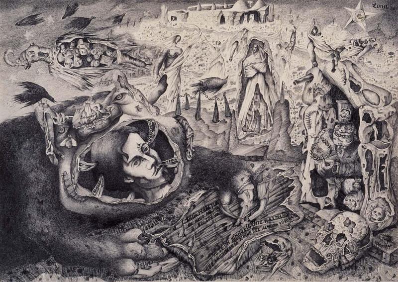 Antonio Rodríguez Luna - Homage to Bécquer, 1936