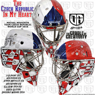 The Czech Republic In My Heart - Michal Neuvirth, Team Czech Republic, World Cup 2016