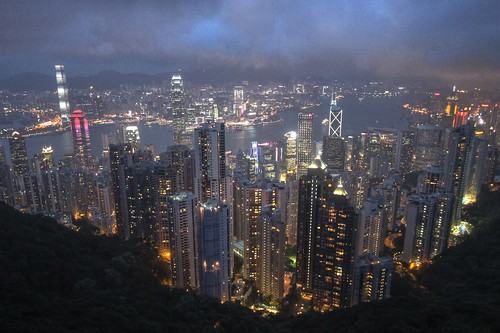 Hong Kong from the Peak (HDR) | by Anto Youssef