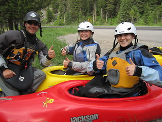 Thumbs Up for Whitewater in Big Sky Montana | by bigsky.resort
