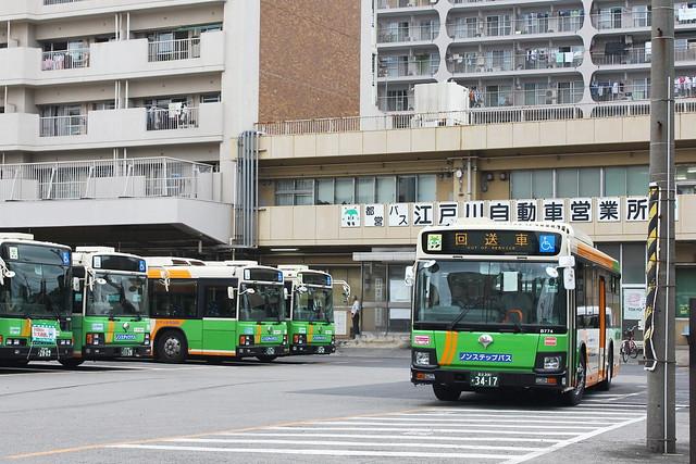 2016/09/12 東京都交通局 B774