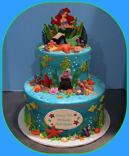 Little Mermaid Cake Topper Party City
